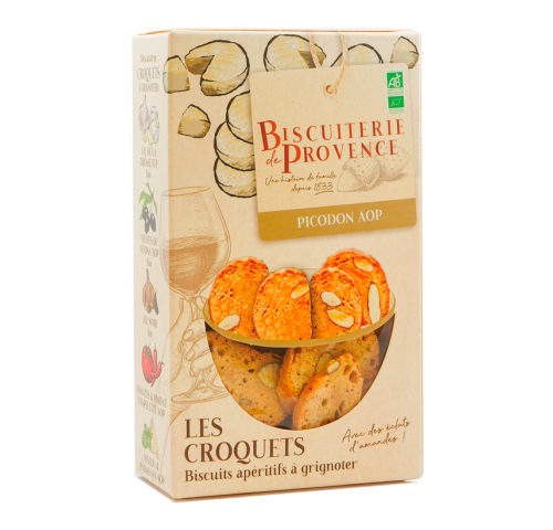 organic picodon goat cheese biscuits