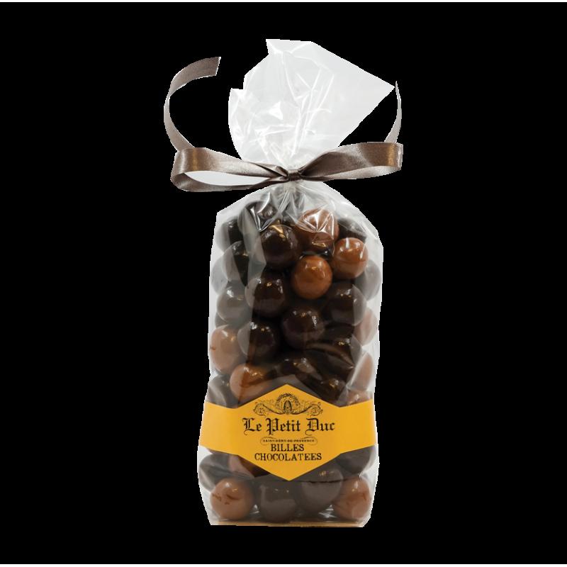 Billes au chocolat croustillantes