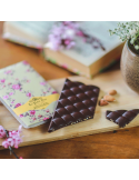 Tablette chocolat noir éclats d'amandes