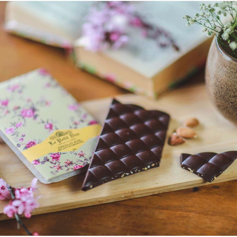 Tablette Chocolat Noir Amandes &...