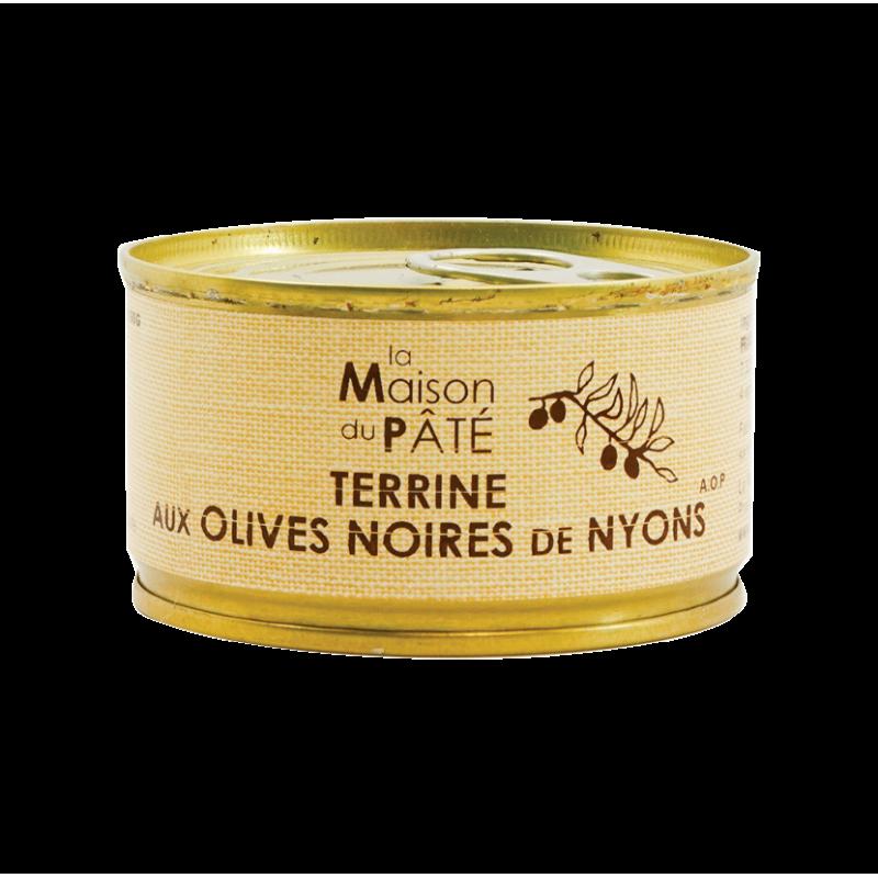 Terrine de campagne aux olives de Nyons