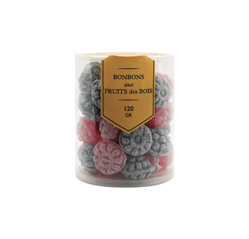 Forest fruit candies