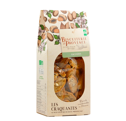 organic traditional almond biscuits