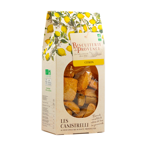 organic traditional lemon biscuits
