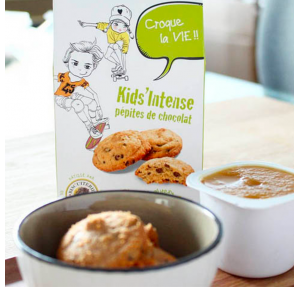 organic chocolate chips biscuits
