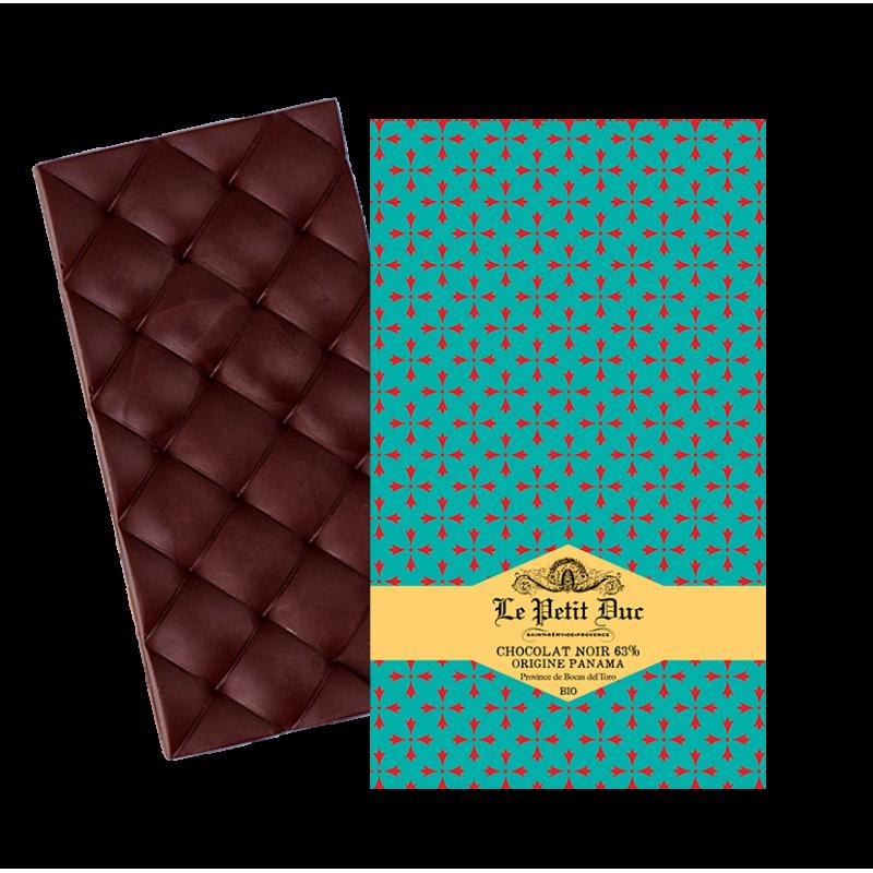 Tablette chocolat noir 63%