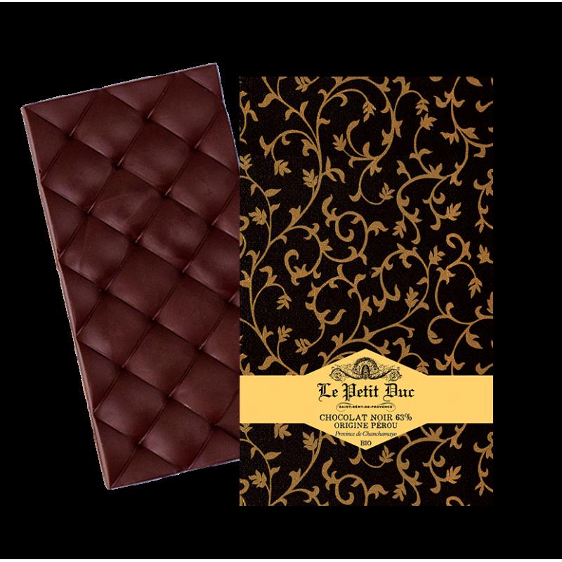 Tablette de Chocolat Noir 63% Pérou