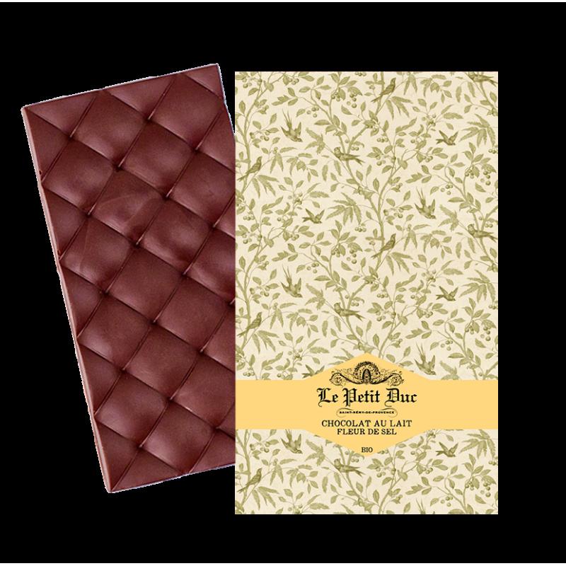 Tablette de Chocolat au Lait et Fleur...