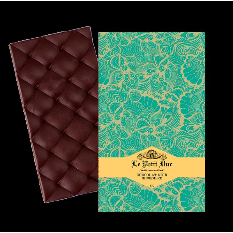 Tablette Chocolat Noir Gingembre