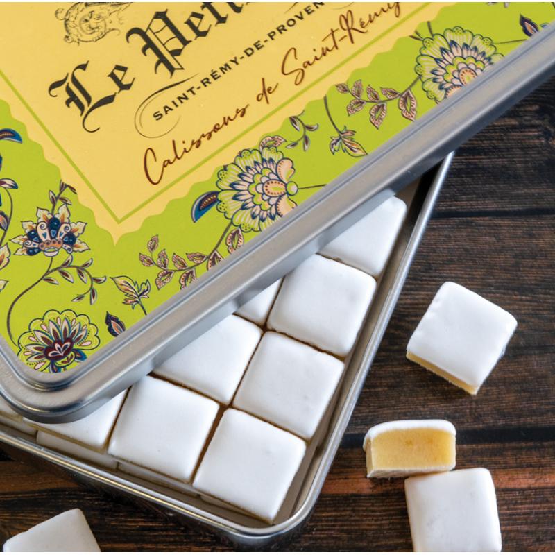 Boite Métal Calissons de Saint-Rémy
